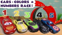 Learn Colors & Learn English with Hot Wheels Disney Pixar Cars 3 Lightning McQueen and DC Comics & Marvel Avengers 4 Endgame Thanos in this family friendly full episode english story for kids