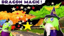 Dragon Magic with Funny Funlings and Thomas and Friends need to Learn English & Learn Colors to play Hide and Seek, taking Dragon food from Marvel Avengers 4 Endgame Superheroes in this Full Episode