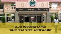 Blow to ODM as Ganda ward seat is declared vacant