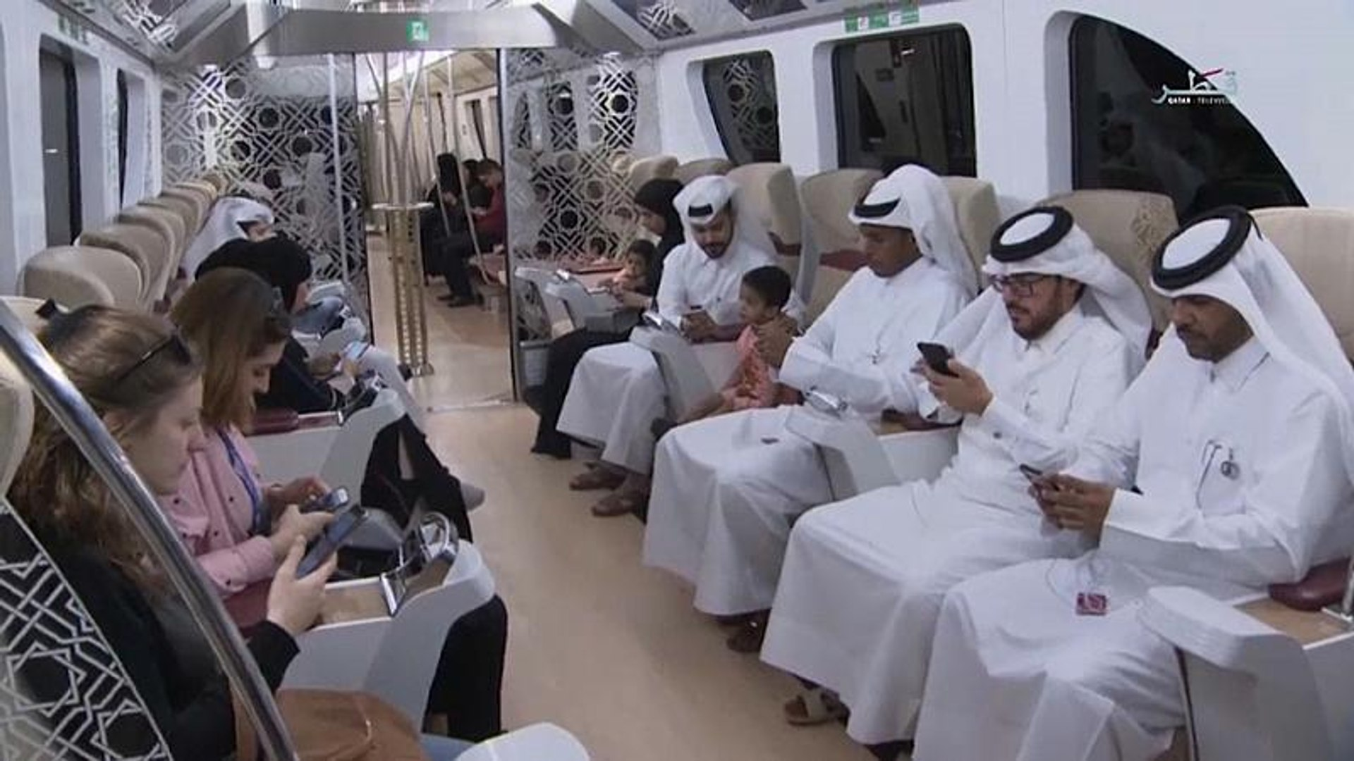Watch: Qatar unveils metro ahead of 2022 FIFA World Cup