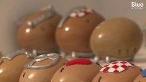 En Bosnie, pour devenir forgeron il faut être capable de ferrer une coquille d'œuf