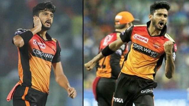 IPL 2019:Khaleel Ahmed's 'Phone Call' Celebrations During Eliminator Match Against Delhi Capitals