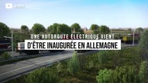 Une autoroute électrique vient d'être inaugurée en Allemagne