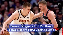 The Denver Nuggets Move One Up On Portland