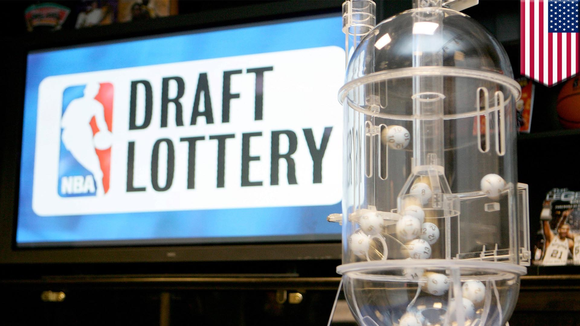 How does the NBA Draft Lottery process work?