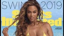 """Tyra Banks Makes éblouissante en couverture du numéro spécial """"Maillots de bain"""" de Sport Illustrated"""