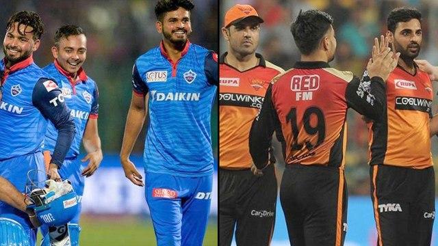 IPL 2019 : Delhi Capitals VS Sunraisers Hyderabad Match Statistical Highlights || Oneindia Telugu