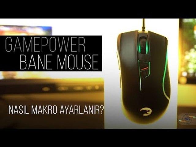 Bane Mouse için Makro Ayarlama