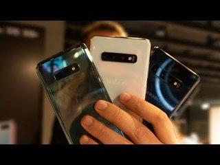 Galaxy S10 S10+ S10E Ön inceleme