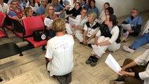 Les personnels de l'hôpital de Vitré reprennent les Trois cafés gourmands des infirmières de Valence
