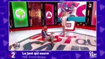 Adriana Karembeu en dévoile un peu trop face à Cyril Féraud
