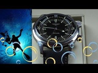 En Zarif Vintage Dalgıç Saati Longines Legend Diver - Mert Kalafat