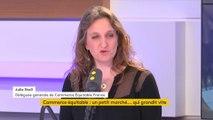 """Julie Stoll (Commerce équitable France) : """"En six ans, les ventes de produits équitables ont triplé"""""""