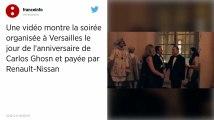 L'incroyable fête organisée par Carlos Ghosn au château de Versailles
