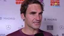 "ATP - Masters 1000 Madrid 2019 - Roger Federer : ""Gaël (Monfils) a été incroyable"""