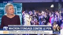Elections européennes: Emmanuel Macron s'engage contre Marine Le Pen