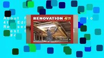 About For Books  Renovation 4th Edition: Completely Revised and Updated  Best Sellers Rank : #4