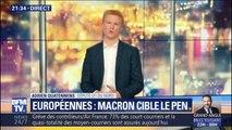 """Adrien Quatennens estime qu'Emmanuel Macron """"joue sa survie politique"""" aux européennes"""