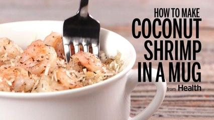 How to Make Coconut Shrimp In a Mug