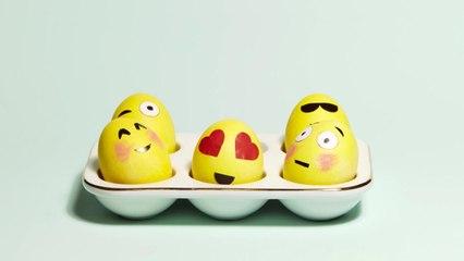 How to Make Emoji Easter Eggs