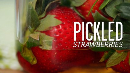 How To Pickle Strawberries