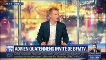 """Pour Adrien Quatennens, Emmanuel Macron """"défait la France pour satisfaire les exigences de l'Europe du fric"""""""