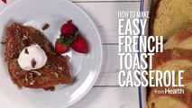 How to Make Easy French Toast Casserole