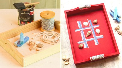 How To Make a Summertime Game Tray