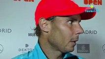"ATP - Masters 1000 de Madrid 2019 - Rafael Nadal est en quarts : ""Je suis content de qui m'arrive !"""