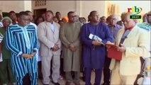 RTB/Célébration de la journée de l'organisation pour la sécurité routière en Afrique de l'ouest - Le Ministre des Transports remet du matériels d'une valeur de 25 millions de F CFA à l'hôpital Salgado Ouedraogo