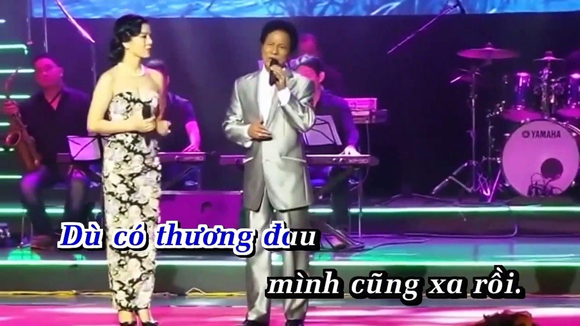 [Karaoke] Đoạn Cuối Tình Yêu - Chế Linh Ft. Lệ Quyên [Beat]