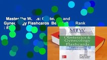 Master the Wards: Obstetrics and Gynecology Flashcards  Best Sellers Rank : #2