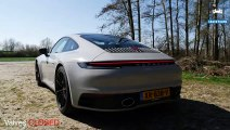 NEW! Porsche 911 992 Carrera 4S SPORT EXHAUST Sound REVS & ONBOARD by AutoTopNL