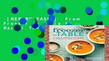 [NEW RELEASES]  From Freezer to Table by Rachel Tiemeyer