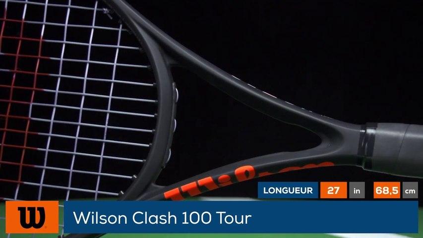 Tennis Test Matériel - On a testé pour vous la Wilson Clash 100 Tour
