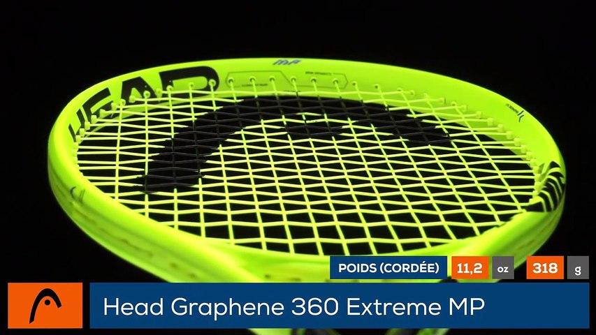 Tennis Test Matériel - On a testé pour vous la Head Graphene 360 Extreme MP