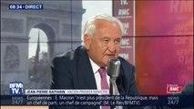 """Pour Jean-Pierre Raffarin, """"il faut sauver l'Europe, nous sommes au bord de la déconstruction"""""""