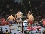Giant Baba & Jumbo Tsuruta vs. Dory Funk Jr. & Terry Funk (AJPW Real World Tag League 1980 - Tag 13)