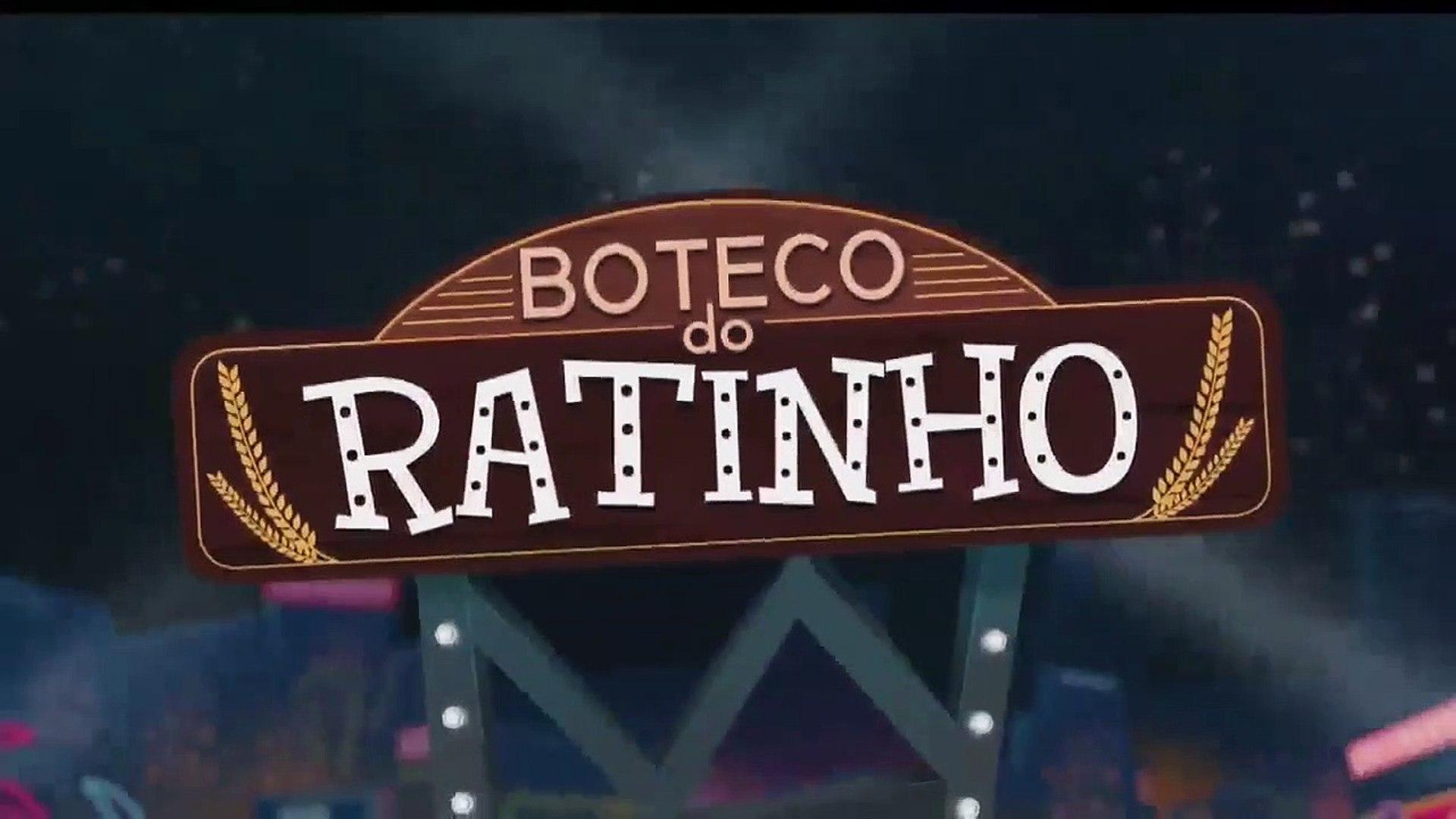 Chamada Boteco do Ratinho AO VIVO - Programa do Ratinho no SBT (03/04/2019) (Único dia)