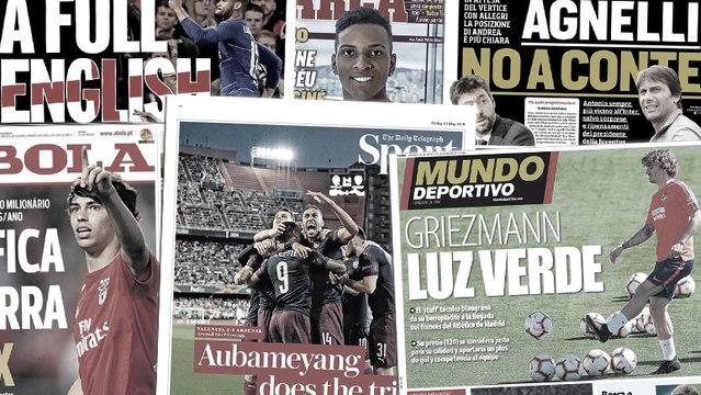 Le Barça attend déjà Antoine Griezmann, l'Europe s'incline face au carton plein des clubs de Premier League