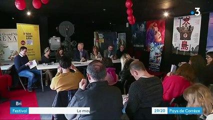 Festival du cinéma de Brive - Reportage France 3 19/20 Pays de Corrèze