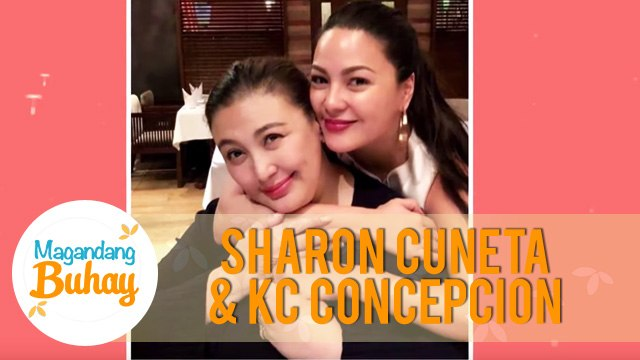 Sharon shares her relationship with KC during her tour   Magandang Buhay