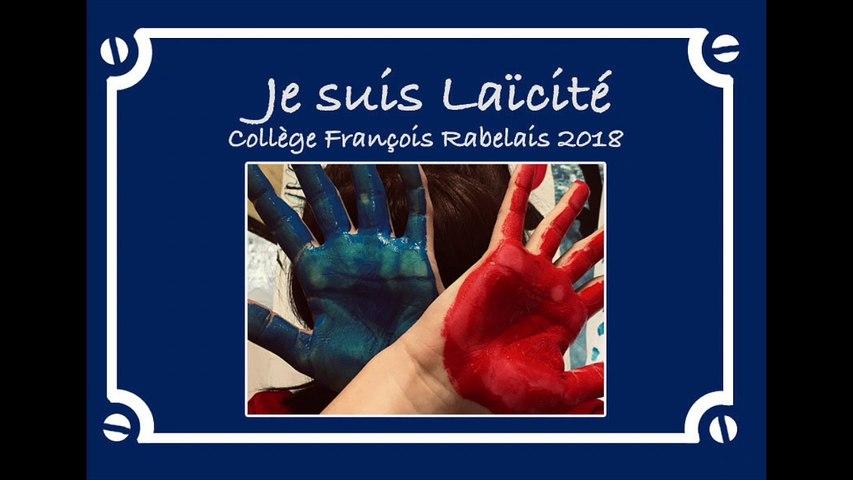 Prix Tous Unis dans la Laïcité 2019 - « La journée de la laïcité » du collège François Rabelais de L'Escarène