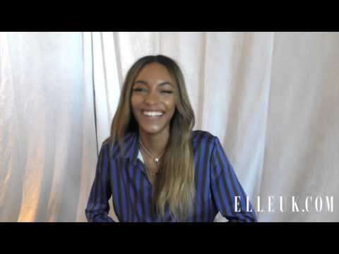 Playing Word Games with Jourdan Dunn