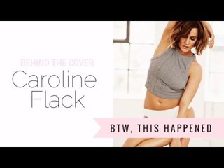 Caroline Flack's Women's Health Shoot in 60 seconds