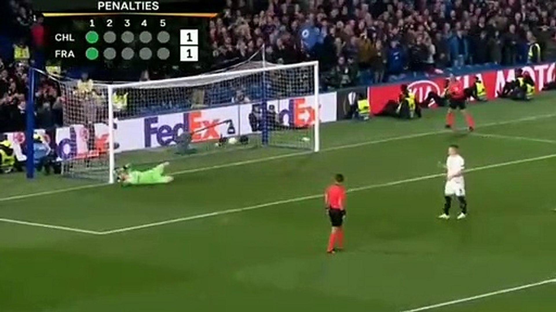 Chelsea vs frankfurt penalty shootout