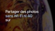 iPhone : Partager des photos sans Wi-Fi ni 4G