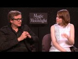 Bazaar interviews Emma Stone and Colin Firth for Magic in the Moonlight