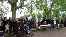 Vaulx-en-Velin: manifestation devant les écoles