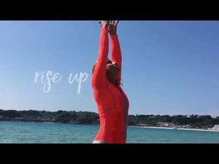 How To Do An Easy Yoga SUP Flow